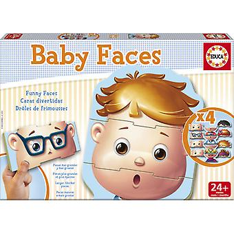 Educa Baby Faces (Kids , Toys , Table games , Puzzles)