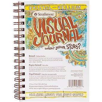Strathmore Visual Journal Bristol Vellum 5.5