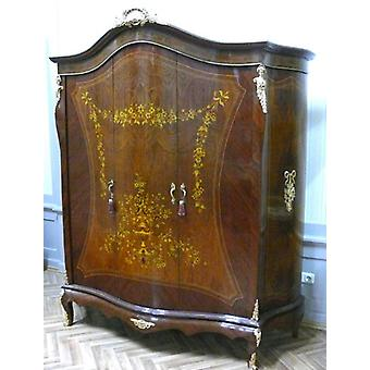 Baroque clothes cupboard antique style XV MoBd0762Luster6
