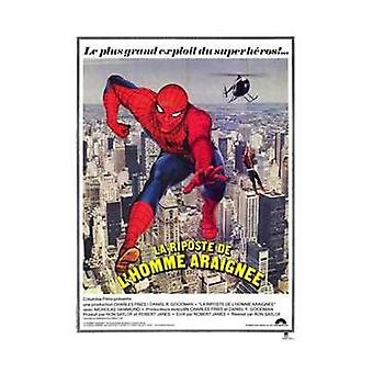 Spiderman Strikes Back Movie Poster (11 x 17)