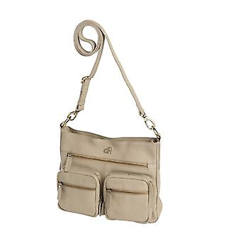 Dr Amsterdam Basil shoulder bag Beige