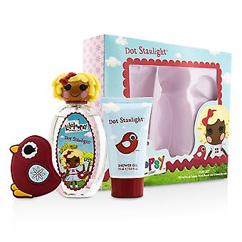 Lalaloopsy Dot Starlight søde Coffret: Eau De Toilette Spray 100ml/3,4 oz + Shower Gel 75 ml/2.5 oz + fransk Barrette 3stk