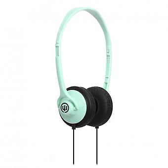 WICKED AUDIO Headphone Chill Green On-Ear Ultra Light