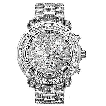 Joe Rodeo diamond men's watch - JUNIOR silver 19.25 ctw