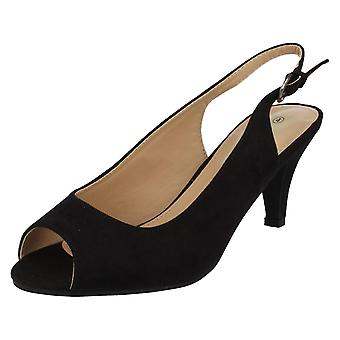 Kära Anne Michelle Peep Toe Sling tillbaka sandaler F10591