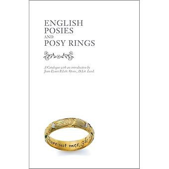 English Posies and Posy Rings (Hardcover) by Evans Joan