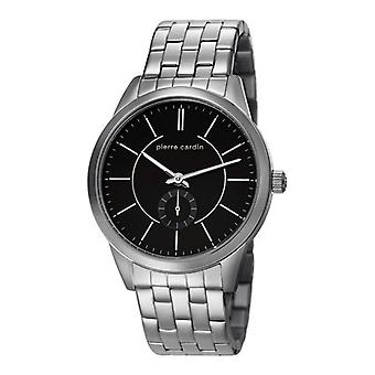 Pierre Cardin mens watch wristwatch TROCA black PC106571F07