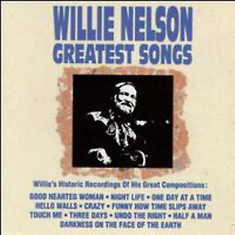 Willie Nelson - Greatest Songs [CD] USA import