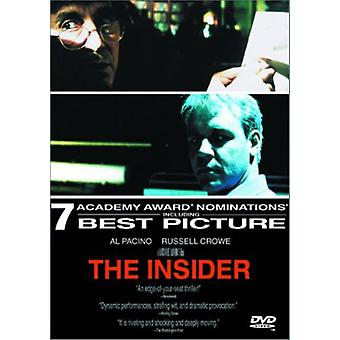 The Insider [DVD] USA import