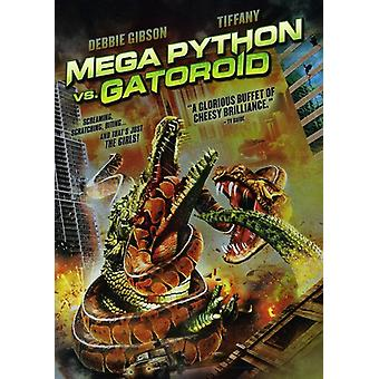 Mega Python vs. Gatoroid [DVD] USA import