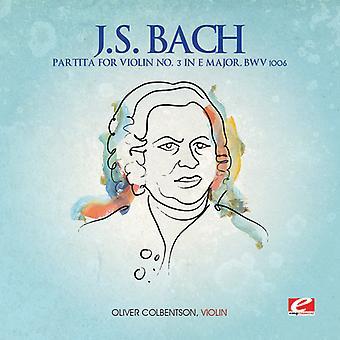 J.S. Bach - J.S. Bach: Partita for Violin No. 3 in E Major, Bwv 1006 [CD] USA import