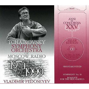 D. Sjostakovitj - Sjostakovitj: Symfoni nr. 10; Romantik at filmen hestebremse [CD] USA importerer