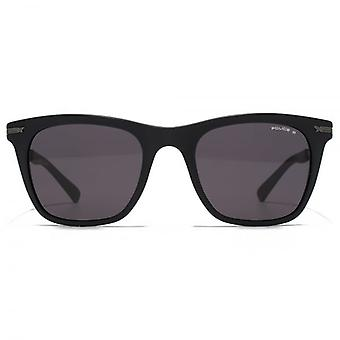 Police Fine Temple Square Sunglasses In Matte Black Polarised
