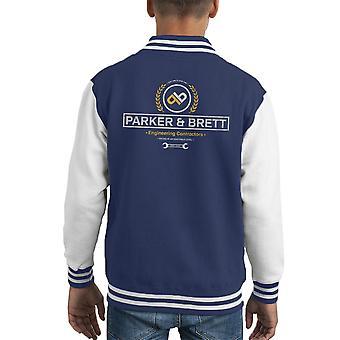 Parker und Brett Engineering Auftragnehmer Alien Kid Varsity Jacket