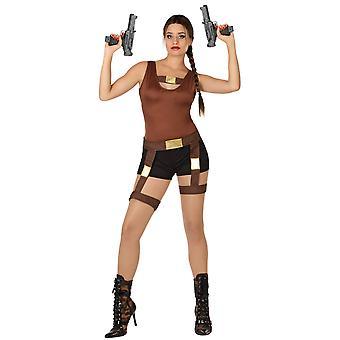 Kvinnor kostymer äventyrare kvinna Lara