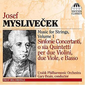 J. Myslivecek - Josef Myslivecek: Vi Sinfonie Concertanti, Op. 2 [CD] USA import