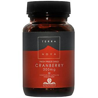 Terranova Cranberry 300 mg 50 Vegetable Capsules