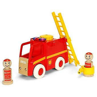 BRIO Light and Sound Feuerwehrauto 30383