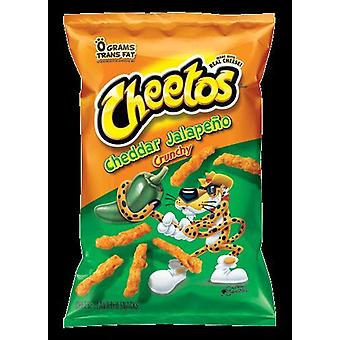 Cheetos Cheddar Jalapeno Crunchy Chips
