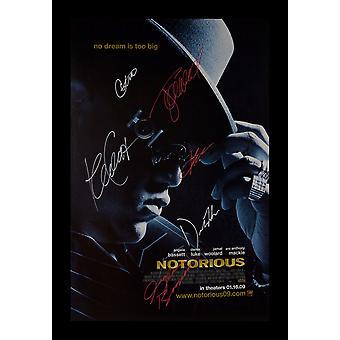 Notorious Signed Poster