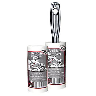 1x Caraselle Pet Hair Lint Roller & 1x Refill total 15 metres
