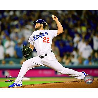 Clayton Kershaw Game 1 of the 2017 National League Division Series Photo Print