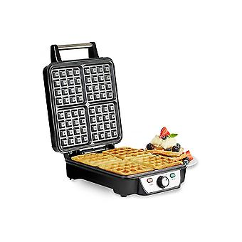 Andrew James 4 Slice Waffle Maker With Adjustable Temperature