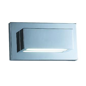 5w Led Chrome Up/down-light Wall Light - Searchlight 1752cc