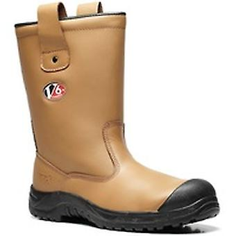 V12 V6816 Polar Tan Fur Lined Rigger Boot EN20345:2011-S1P Ci Size 11