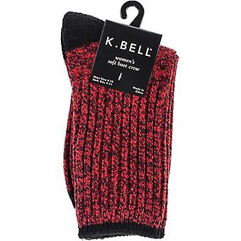 Soft Marl Boot Socks-Red SMBSOCK-7H36R