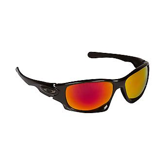 Ten X Replacement Lenses Polarized Black & Ruby Red by SEEK fits OAKLEY