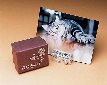 Meow Cat Photo Picture Stand