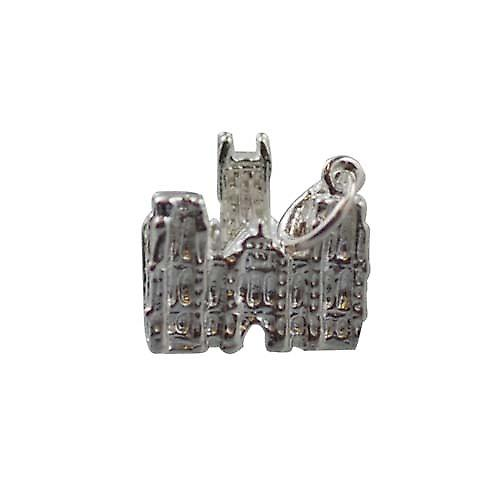 Silver 12x17mm Lincoln Cathederal Charm