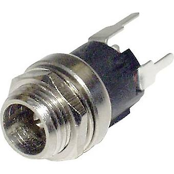 Low power connector RJ45 socket, straight 2.1 mm