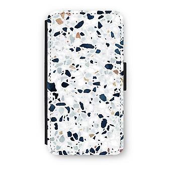 iPhone X Flip Case - Terrazzo N°1