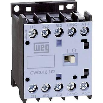 Contactor 1 pc(s) CWC07-01-30C03 WEG 3 makers 3 kW