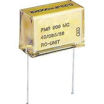 PMR suppression capacitor Radial lead 0.047 µF 250 V AC, 630 Vdc