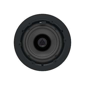 VISION PAIR OF WHITE ACTIVE CEILING SPEAKERS-30w (rms) each, 1 x stereo line-level input (via 2-phono), 1 x stereo line-level