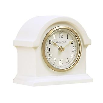 London Clock 1922 12cm Heritage Grace Cream Arch Top Mantel Clock