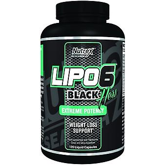 Nutrex Lipo-6 Black Hers 120 Liquid Capsules (Sport , Weight loss , Thermogenics)