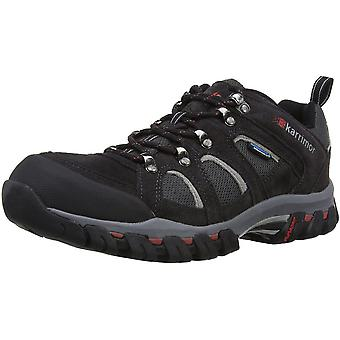 Karrimor Mens Bodmin 4 Low Waterproof Breathable Mesh Suede Walking Shoes