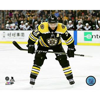 Patrice Bergeron 2017-18 Action Photo Print