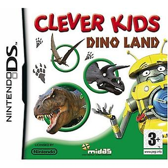 Clever Kids Dino Land (Nintendo DS)