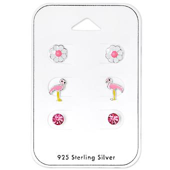 Flamingo - 925 Sterling Silver Sets - W33241x
