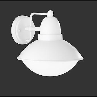 Trio Lighting Amur Modern White Matt Diecast Aluminium Wall Lamp