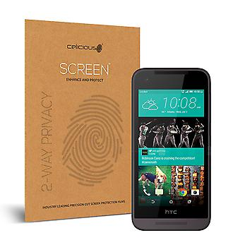 Celicious Privacy 2-weg Antispion filteren Screen Protector Film compatibel met HTC Desire 520