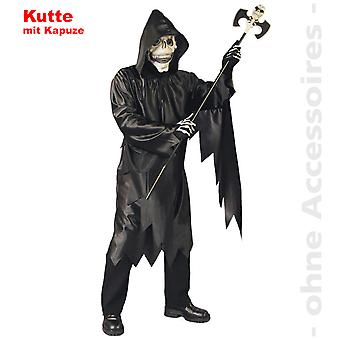 Grim reaper costume of Mr death executioner mens Halloween costume