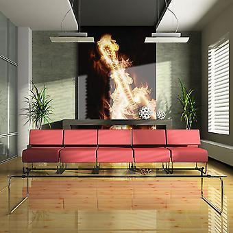 Wallpaper - Flaming guitar