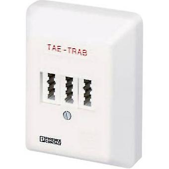 Phoenix Contact TAE-TRAB FM-NFN-AP 2749628 Surge protection socket Surge prtection for: Phone/fax (TAE) 5 kA