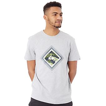 QUIKSILVER Athletic Heather Classic Skyline cramoisi T-Shirt